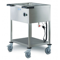 Chariots Bain Marie Restauration Collective Hupfer
