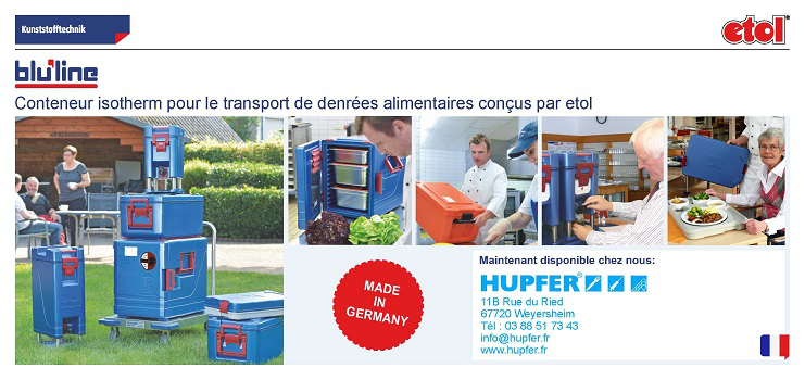 Nouvelle gamme : conteneurs isothermes pour le transport de denrées alimentaires