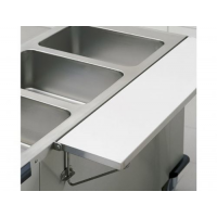 TABLETTE FRONTALE/LATERALE POUR CHARIOT BAIN-MARIE